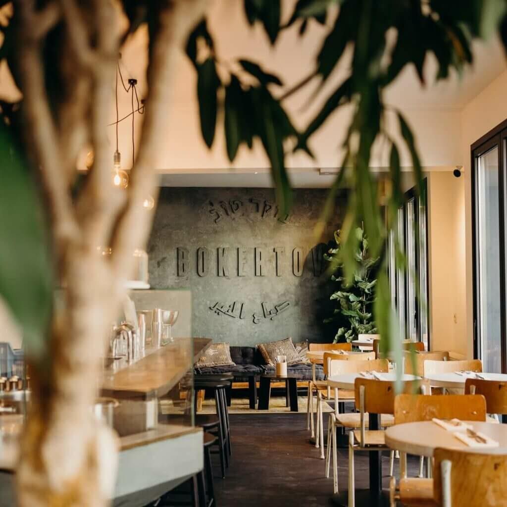 Boker Tov Berchem interieur restaurant